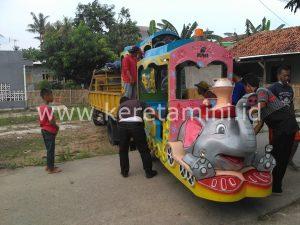 pengangkutan kereta gajah malingping