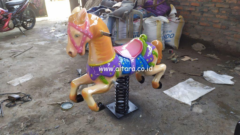 mainan kuda per pegas made in Bekasi